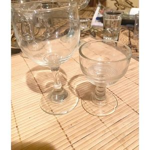 Set Wine & Brandy Glasses